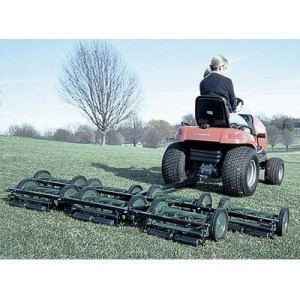 American Lawn Mower 5 Gang Reel Mowing System