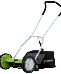 GreenWorks-5-Blade-Push-Reel-Lawn-Mower-with-Grass-Catcher-0