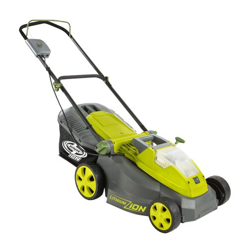 Sun joe lawn mower with brushless motor electric lawn mowers for Best motor oil for lawn mowers